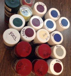 Краска для металла (разные цвета)