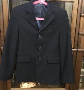 Пиджак школьный, темно-синий