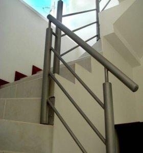 Ограждения для лестницы на этаж