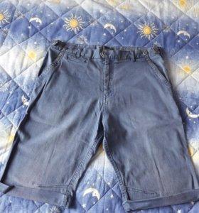 Шорты джинсовые (Бермуды) Pull And Bear