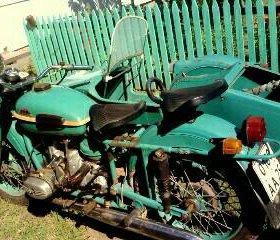 Продам мотоцикл Урал М-67 36.