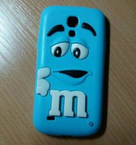 Силиконовый чехол на телефон Samsung Galaxy s4mini