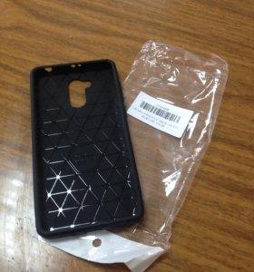 Чехол и закалённое стекло на xiaomi 4 pro