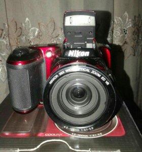 Новый! Фотоаппарат Nikon l810.Обмен