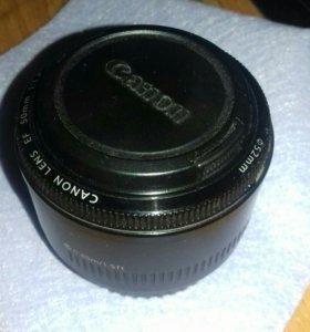 Canon EF 50 f/1.8 II.
