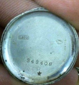 Часы старинные 800 пробы серебро
