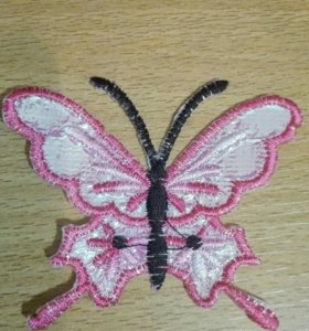 Заплатка бабочка