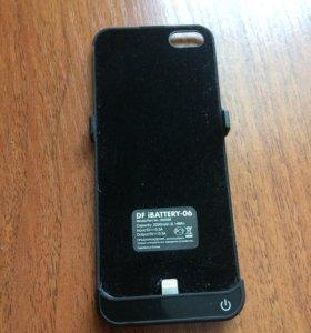 Чехол-аккумулятор на IPhone 5/5s/SE