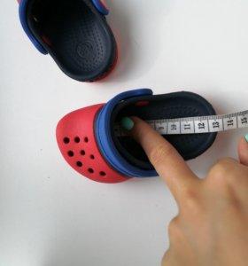 Crocs, детские шлепки