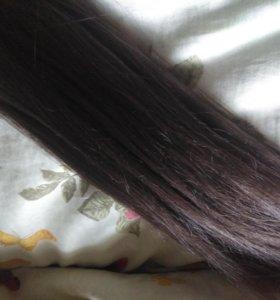 Волосы на заколках (пряди)