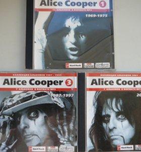 Alice Cooper 3 MP3 CD+книга