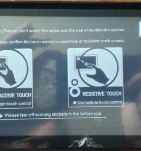 Автомагнитола Toyota DVD USB BT вход/камера