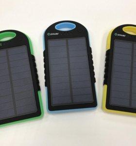 Power Bank от солнечной батареи