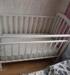 Детская кроватка Алита 2+ матрас