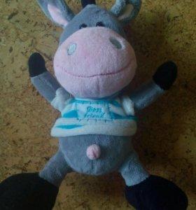 Мягкая игрушка ослик