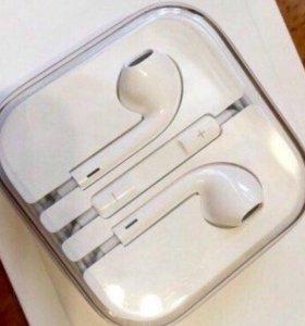Наушники от iPhone 6 EarPods Apple оригинал новые