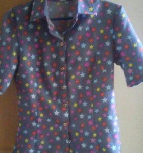 Блузка - рубашка новая