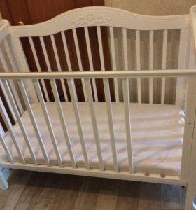 Детская кроватка без маятника (гандылян)