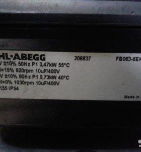 Осевой вентилятор Ziehl-abegg FB063-6EK.4I. V4L