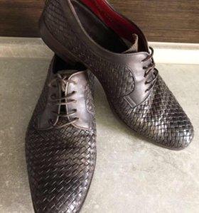 Туфли мужские 39 кожаные