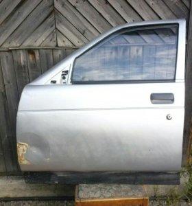 Дверь ваз 2110 с электро стеклоподьемником и обшив