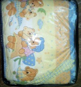 Защита на детскую кровать+ балдахин