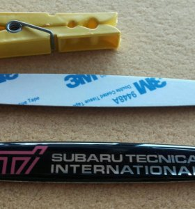 Наклейки Subaru STI