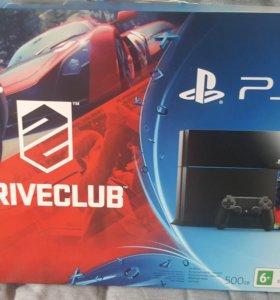 Sony PlayStation 4. Drive club.