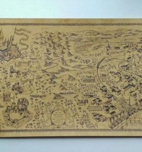 Карта по вселенной Гарри Поттера