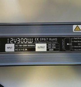 Блок  питания   12v  герметичный в ассортименте.