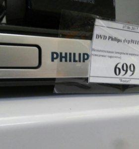 Dvd плеер Филипс