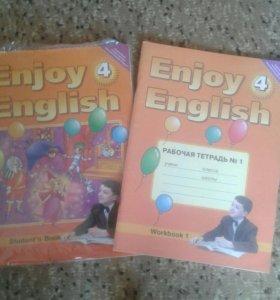 Учебник и тетрадь 4 класс