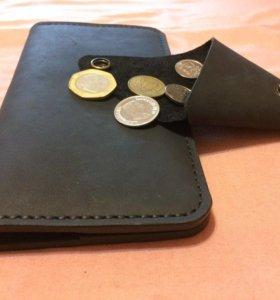 Комплект портмоне и монетница