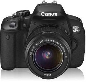Canon EOS 650D Kit EF-S 18-55mm