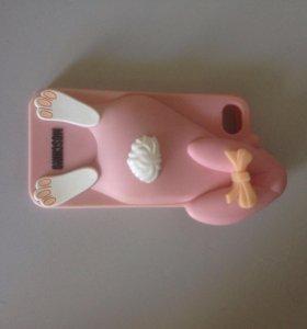 Чехол Moschino для iPhone 4 4s