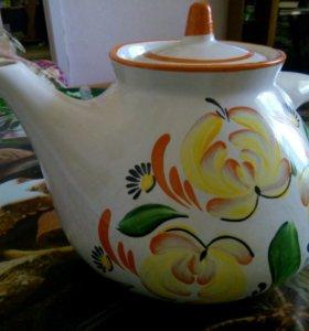 Чайник майолика