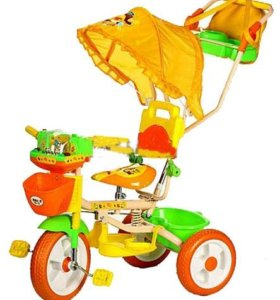 Велосипед 3-х колёсный для девочки