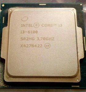 Процессор Intel Core i3 6100
