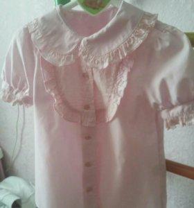блузка для 1 класса