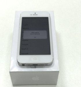 iPhone 5 с памятью 16Гб. Новый