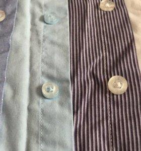 Рубашки 4 штуки