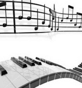 Уроки игры на фортепиано, сольфеджио