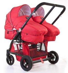 Коляска для двойни Valco Baby Zee Spark Duo