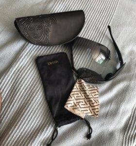 Подлинные VERSACE солнцезащитные очки 2в1, унисекс