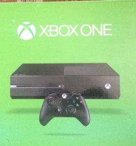 Xbox one 500gb+8 игр