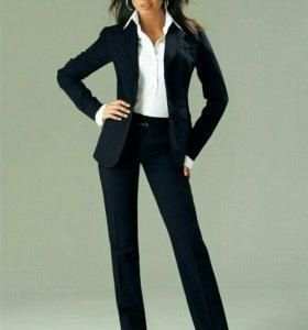 Брючный костюм женский.новый(офисный)