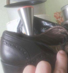 Осень ботинки 36р.натуральная кожа