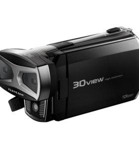 Видеокамера новая DXG DVX-5F9 3D/2D (3D очки)