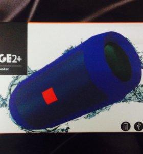 Новые JBL Bluetooth-колонки Charge 2+ синяя