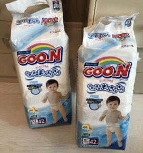 Подгузники  Goon xl